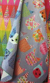 Facebook & Pink Door Fabrics - The Kittens Quilt featuring Tabby Road - Pattern by  Elizabeth Hartman & Adamdwight.com