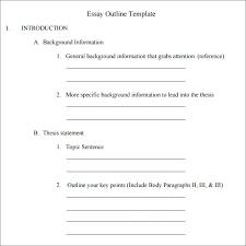 high school outline format informative essay outline format essay outline lab report online