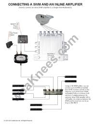 direct tv satellite dish wiring diagram Satellite Tv Wiring Diagrams directv single wire multiswitch swm swm8 for 5lnb dish direct tv satellite wiring diagrams