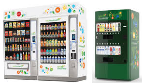 Seaga Vending Machine Awesome PepsiCo's Hello Goodness Vending Initiative Delivers 'Healthy
