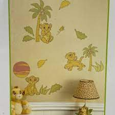lion king removable wall decals by