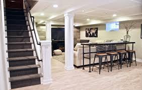 meme hill studio basement remodel renovation fireplace raymour flanigan elise