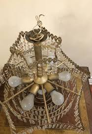 czechoslovakian chandelier real crystals for in los angeles ca offerup