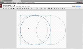 How To Make A Venn Diagram On Google Drawing Create A Venn Diagram In Google Drawings Youtube