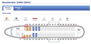 De Havilland Dhc 8 Dash 8 400 Seating Chart Dehavilland Dash 8 Seating Chart 2019