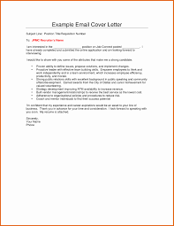 Sample Email Recruiter With Resume Emailing And Cover Letter New