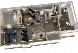 basement finishing design. Dollhouse Overview Of Plan 1 Basement Finishing-Design Build Pros Finishing Design E