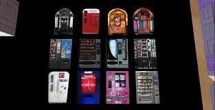 Vending Machine Skirt New Second Life Marketplace WZ Vending Machine Jukebox Texture