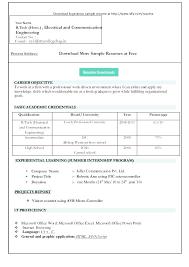 Word 2003 Resume Templates Sarahepps Com
