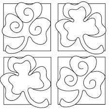 Small Picture Printable Shamrock Coloring Sheets St Patricks Coloring Pages