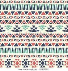 Fine Simple Navajo Designs Modren Drawn Seamless Patterns Shutterstock Throughout Models Design