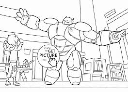 Big Hero 6 Coloring Page For Kids Disney Coloring Pages Printables