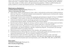 Resume Template Technical Writer Examples Rare Pleasing With ...