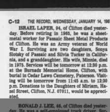 The Record from Hackensack, New Jersey on January 14, 1987 · 91