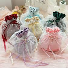 Celebrations & Occasions Wedding <b>Drawstring Gift</b> Bags Candy ...