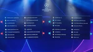 Champions League Chart 2019 Champions League Group Stage Draw Made In Monaco Uefa