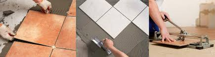 floor and wall tile installation