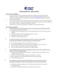 Medical Office Assistant Job Description For Resume Medical Assistant Job Description For Resume Stibera Resumes 80