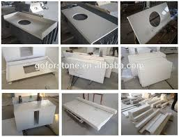 prefab quartz countertops prefabricated quartz countertops stunning types of countertops