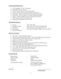 Network Test Engineer Sample Resume 12 Cisco 20 Ccna Cv Cover Letter
