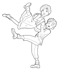 Ballerina Coloring Ballerina Coloring Book Pages Page Free