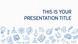 Science Powerpoint Template Free Free Playful Powerpoint Template Or Google Slides Theme With