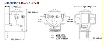 cole hersee 200a smart battery isolator 48530 ac dc marine, inc Warn Isolator Wiring-Diagram cole hersee smart isoaltor