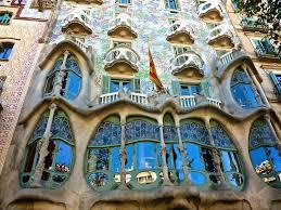 Casa Batll is Antonio Gaudi's most famous building // Art Nouveau in Europe