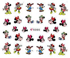 Nail Stickers Mickey K090