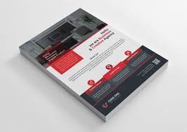 Create Business Flyer Interior Design Business Flyer Template 002396 Template