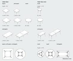 table of dimensions dimensions mm round dining table dimensions for 2