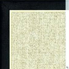 clean sisal rug sisal rugs with borders black border rug black border rug with white solid