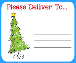 Shipping Labels Templates Free Printable Christmas Shipping Labels