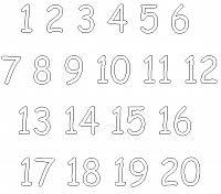 Numeri Disegni Da Colorare E Stampare Gratis Immagini Per Bambini