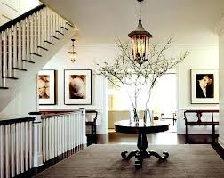 round foyer table ideas lamp tables decorating
