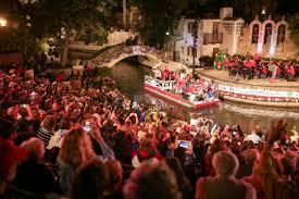Festival Of Lights San Antonio River Parade Kicks Off Host Of Holiday Festivities In San