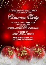 Images Of Christmas Invitations Christmas Party Invitations Zazzle Uk