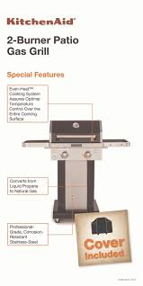 Kitchenaid 5 Burner Gas Grill Propane On Design Decorating