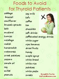 Your Thyroid Diet What To Eat And What To Avoid Thyroid