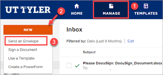Create Envelopes Docusign The University Of Texas At Tyler