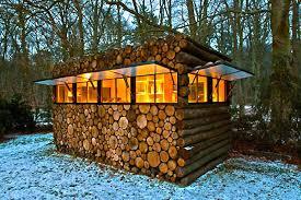 tiny house log cabin. Tiny House Log Cabin Relaxshackscom Thirteen Dream