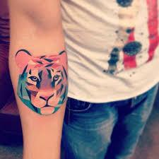 Tetování Tygr My Free World