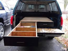 how to install a sliding truck bed drawer system diy projects