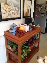 Kitchen Coffee Bar Repurpose Baby Changing Table To Coffee Bar For Kitchen For The