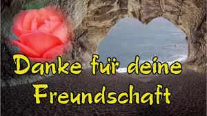 Ich Danke Dir Für Dein Freundschaft Mit Lieben Grüßen Von Mir