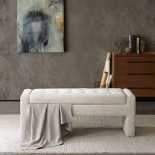 Latitude Tile And Decor Latitude Run Chandra Upholstered Storage Bedroom Bench Upholstery 45