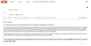 Emailed Cover Letters Short Email Cover Letter Short Cover Letter Sample For Email As Well