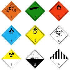 Dangerous Goods Segregation Chart Wa