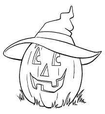 pictures to print and colour for kids. Beautiful Kids Print And Colour The Halloween Witch Pumpkin For Pictures To And Colour Kids F
