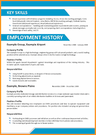 How To List Skills On A Resume 2016 Bio Letter Format